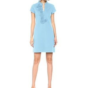 Lilly Pulitzer Clary Polo Dress Blue Peri: NWT